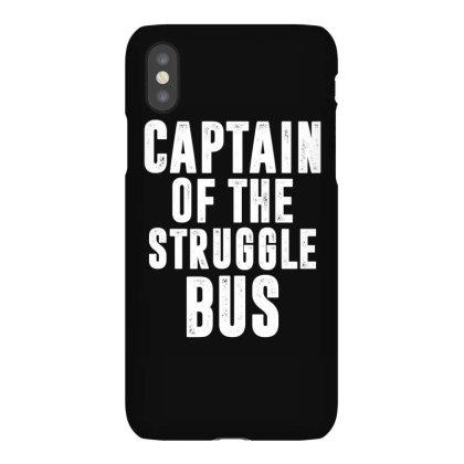 Captain Of The Struggle Bus | Funny Quotes Iphonex Case Designed By Rafaellopez