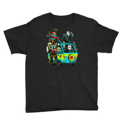 The Massacre Machine Youth Tee Designed By Schulz-12