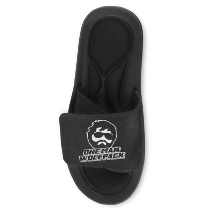 One Man Wolf Pack Slide Sandal Designed By Lyly