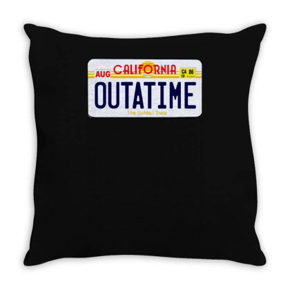 Outatime Throw Pillow Designed By Lyly