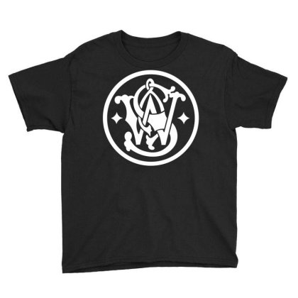 Smith & Wesson Youth Tee Designed By Schulz-12