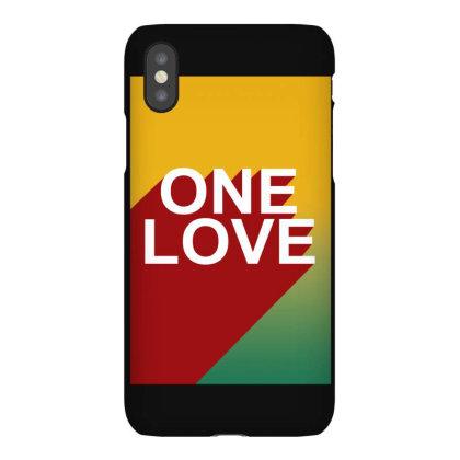 One Love Bob Marley Iphonex Case Designed By Lyly