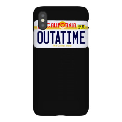 Outatime Iphonex Case Designed By Lyly