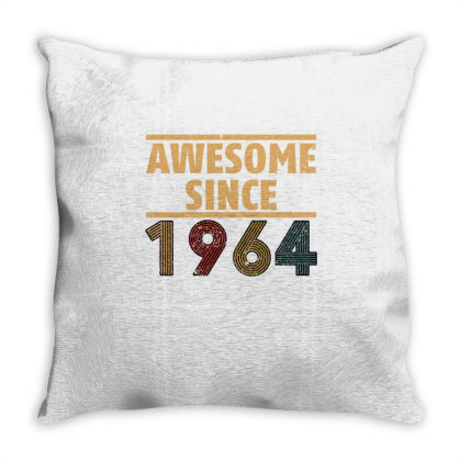 Awesome Since 1964 Throw Pillow Designed By Bettercallsaul