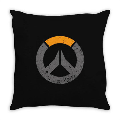 Overwatch Game Ow Throw Pillow Designed By Lyly