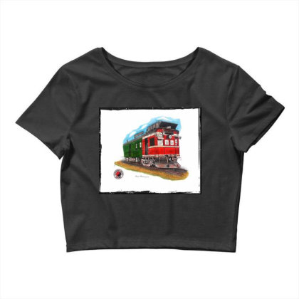 Np Railcar Crop Top Designed By Old Mill Studio