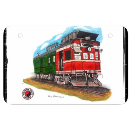 Np Railcar Atv License Plate Designed By Old Mill Studio