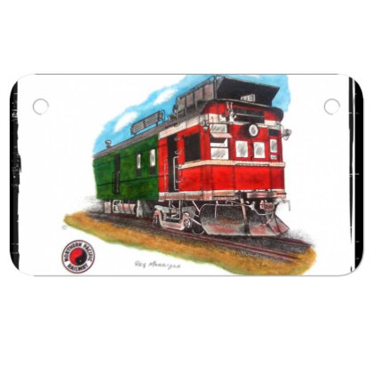Np Railcar Motorcycle License Plate Designed By Old Mill Studio