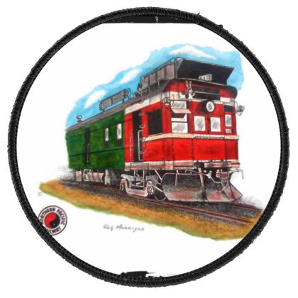 Np Railcar Round Patch Designed By Old Mill Studio