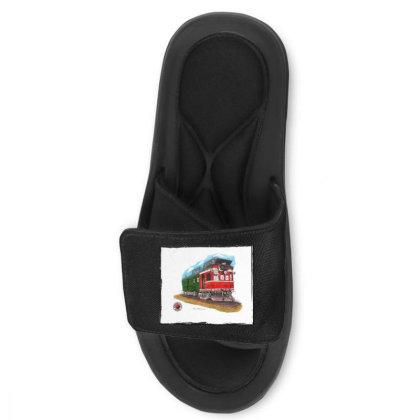 Np Railcar Slide Sandal Designed By Old Mill Studio