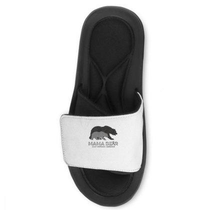 Mama Bear Sleep Disorders Awareness Slide Sandal Designed By Bettercallsaul