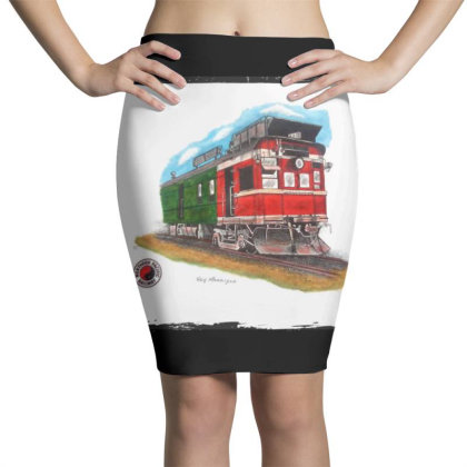 Np Railcar Pencil Skirts Designed By Old Mill Studio