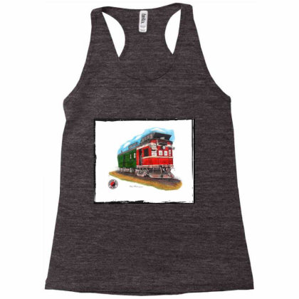 Np Railcar Racerback Tank Designed By Old Mill Studio