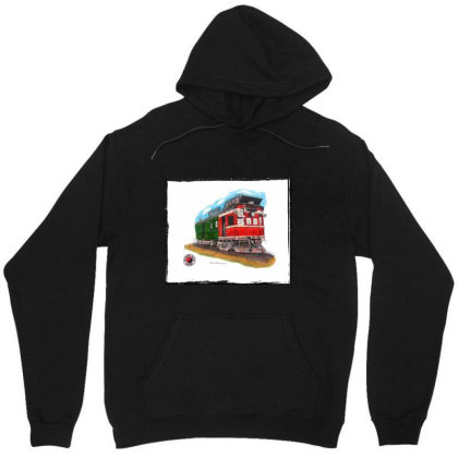 Np Railcar Unisex Hoodie Designed By Old Mill Studio