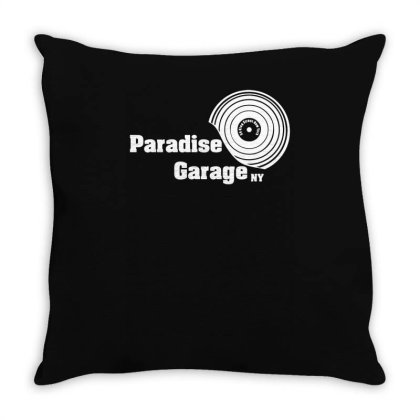 Paradise Garage Throw Pillow Designed By Lyly