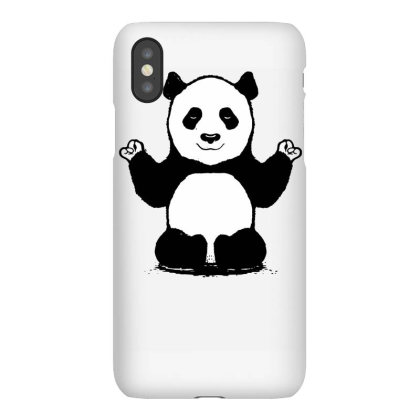 Panda Yoga Iphonex Case Designed By Lyly
