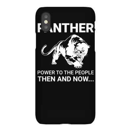 Panther Power To The People Then And Now Funny Iphonex Case Designed By Lyly