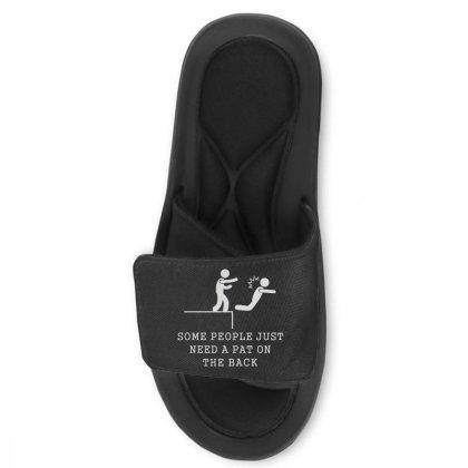 Pat On The Back Slide Sandal Designed By Lyly