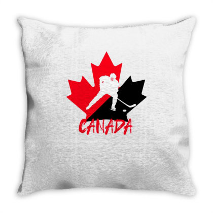 Canada National Team Hockey Throw Pillow Designed By Bettercallsaul
