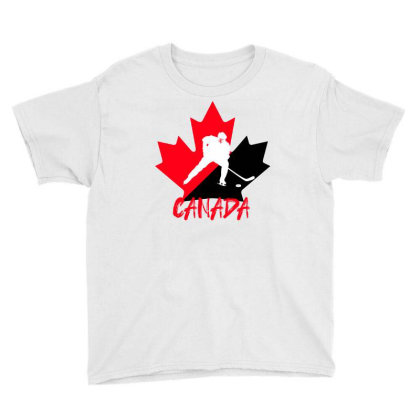 Canada National Team Hockey Youth Tee Designed By Bettercallsaul