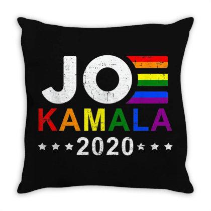 Joe Biden Kamala Harris Throw Pillow Designed By Mrt90