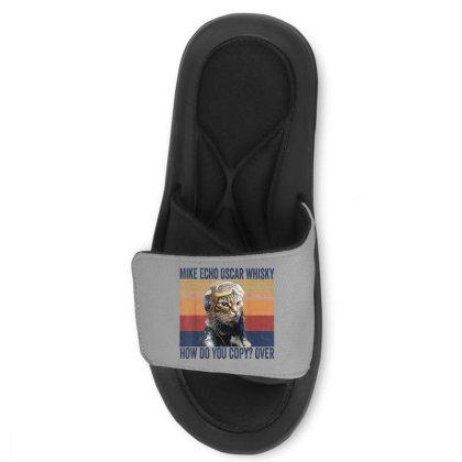 Funny Mike Echo Oscar Whisky Slide Sandal Designed By Mrt90