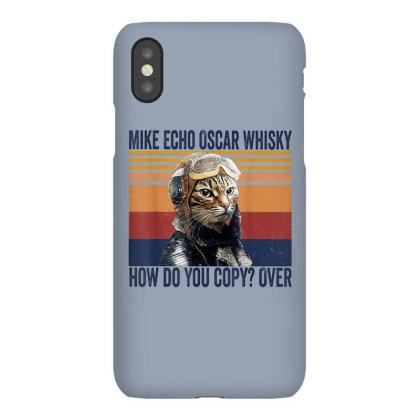 Funny Mike Echo Oscar Whisky Iphonex Case Designed By Mrt90
