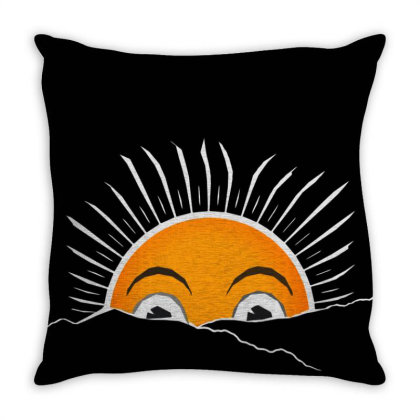 Sunshine Throw Pillow Designed By Chiks