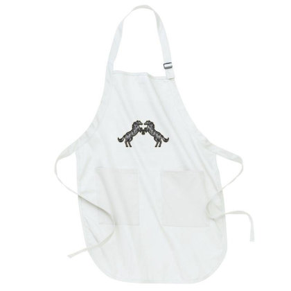 Couple Horse Full-length Apron Designed By Chiks