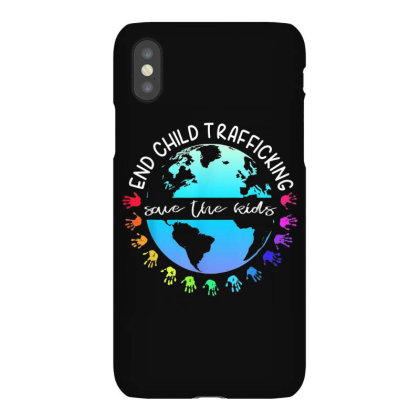 Save The Kids End Child Trafficking Iphonex Case Designed By Mrt90