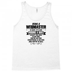 being a webmaster copy Tank Top | Artistshot