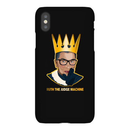 Ruth The Judge Machine Iphonex Case Designed By Akin