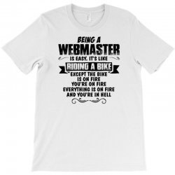 being a webmaster copy T-Shirt | Artistshot