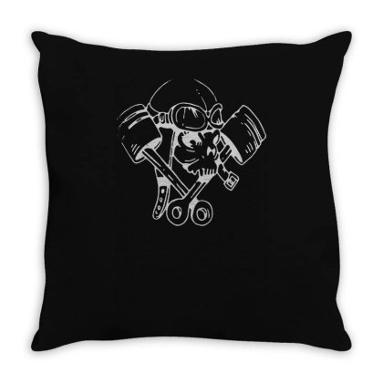 Petrol Head(1) Throw Pillow Designed By Lyly