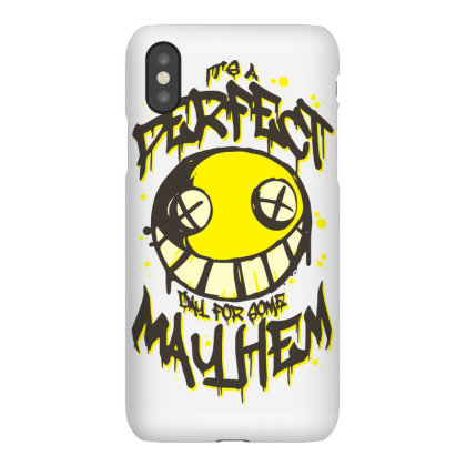 Perfect Day For Mayhem Iphonex Case Designed By Lyly