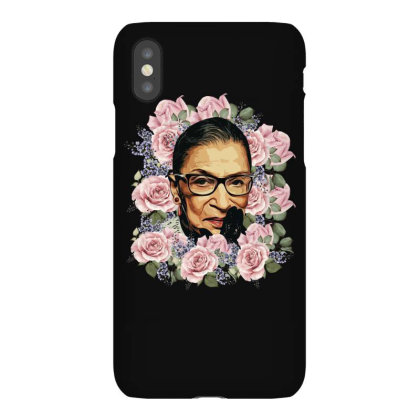 Ruth Bader Ginsburg Notorious Rbg Flower Iphonex Case Designed By Sengul