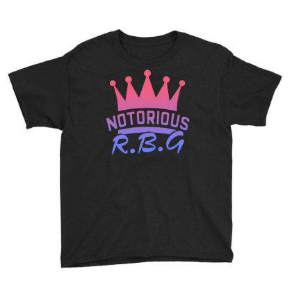 Notorious Rbg Youth Tee Designed By Sengul