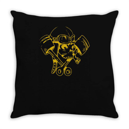 Petrol Head(3) Throw Pillow Designed By Lyly