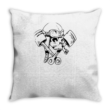 Petrol Head Throw Pillow Designed By Lyly