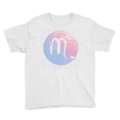 Scorpio Sign Youth Tee Designed By Akin