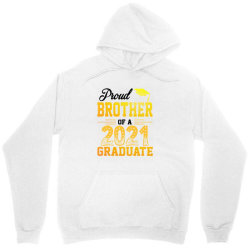 Proud Brother Of A 2021 Graduate For Light Unisex Hoodie Designed By Sengul