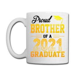 Proud Brother Of A 2021 Graduate For Light Coffee Mug Designed By Sengul