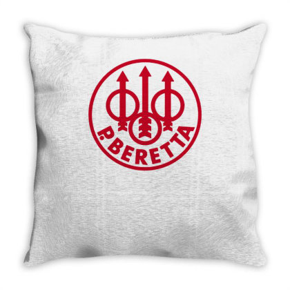 Pietro Beretta Throw Pillow Designed By Lyly