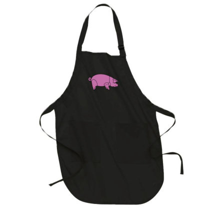 Pig As Worn By Dave Gilmour Full-length Apron Designed By Lyly