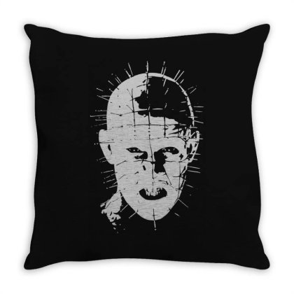 Pinhead   Hellraiser 80s(1) Throw Pillow Designed By Lyly