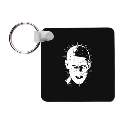 Pinhead   Hellraiser 80s Frp Square Keychain Designed By Lyly