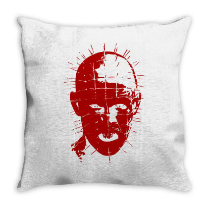 Pinhead   Hellraiser 80s(2) Throw Pillow Designed By Lyly
