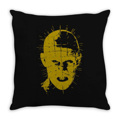 Pinhead   Hellraiser 80s(3) Throw Pillow Designed By Lyly