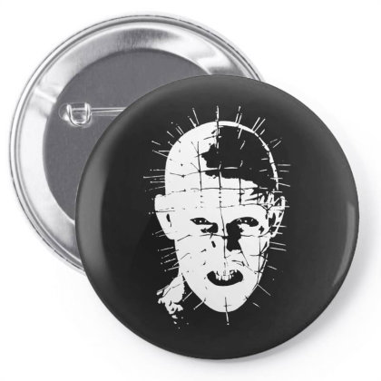 Pinhead   Hellraiser 80s Pin-back Button Designed By Lyly