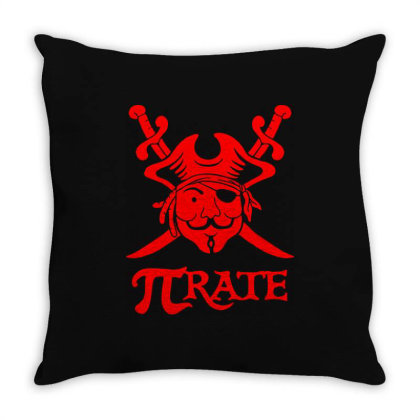 Pi Rate 2 Throw Pillow Designed By Lyly
